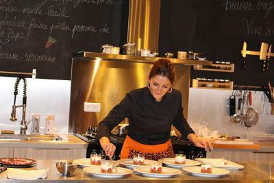 Retour en images sur la soirée «100%» fraises chez Jo…elle cuisine!