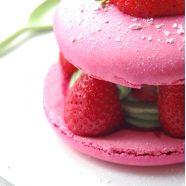 COMPLET – Cours de cuisine adulte « J'apprends une technique » : Samedi 17 juin de 14h à 17h : Macarons fraise! (39€)