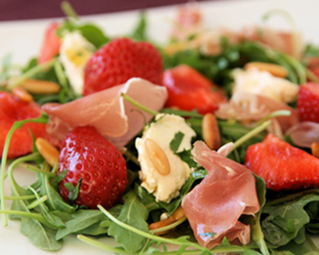 Salade de fraise