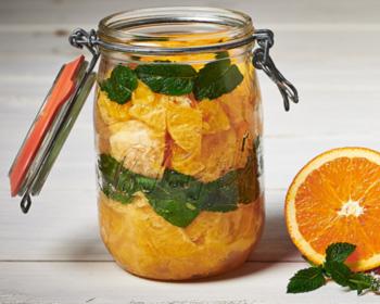 Salade d'oranges cuites à la marocaine en conserve
