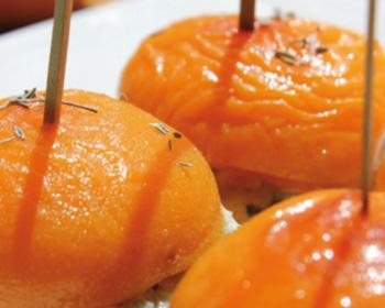 Abricots rôtis au barbecue