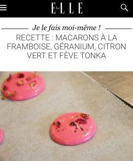 Tuto macarons pour le magazine «Elle» 📇
