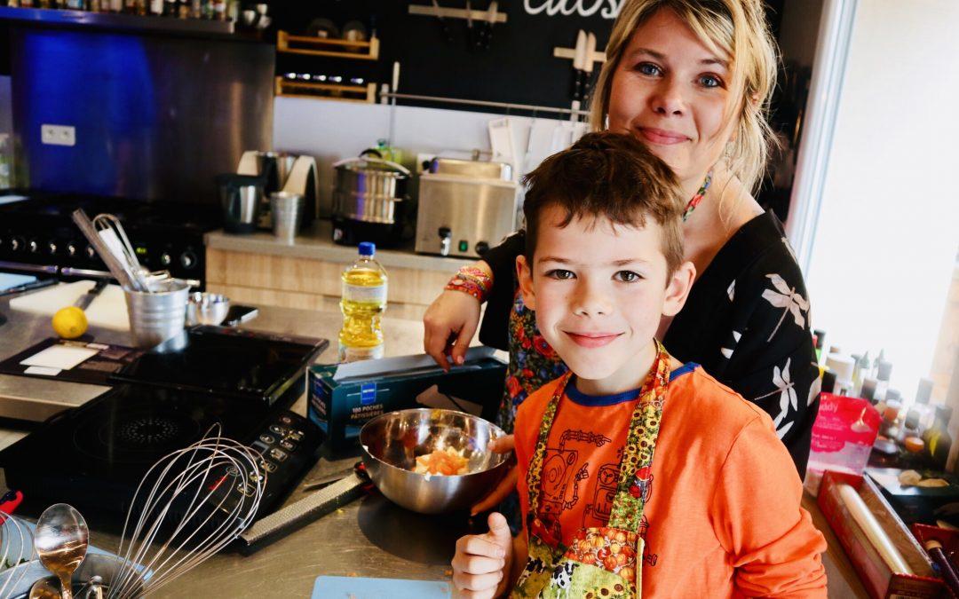Cours de cuisine «duo parent-enfant» apéritif de Pâques  à 4 mains 駱✋駱✋