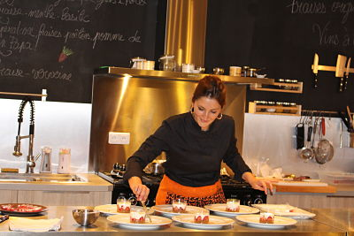 """Retour en images sur la soirée """"100%"""" fraises chez Jo…elle cuisine!"""