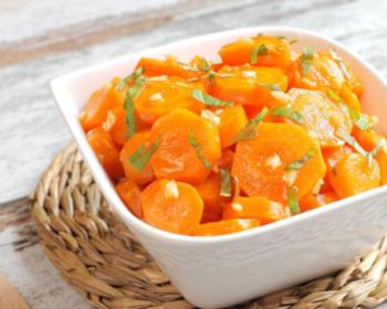 Salade de carotte à l'orange & espuma orange cumin