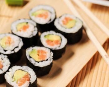 Makis saumon avocat concombre