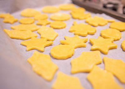 Crackers au cheddar