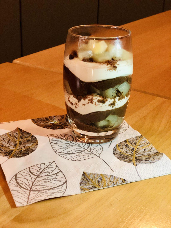 Verrine poire – chocolat